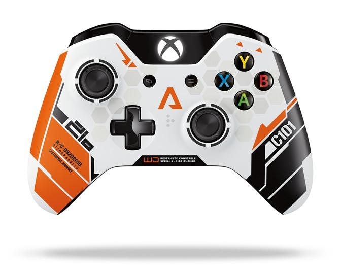 Immagine Svelato il Controller Xbox One dedicato a Titanfall