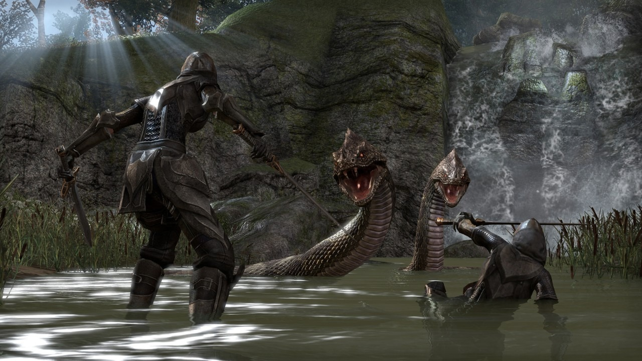 Immagine The Elder Scrolls Online: l'abbonamento PS Plus non sarà necessario