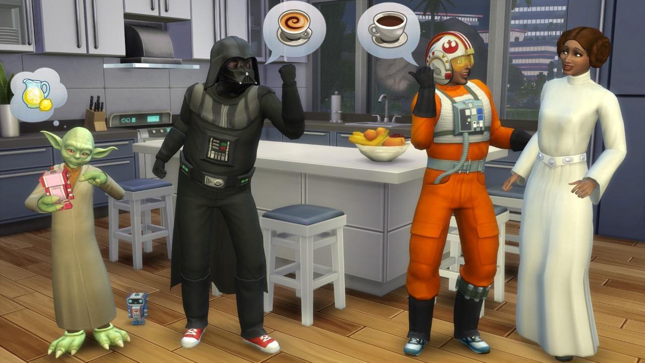 Immagine I Fantasmi e Star Wars arrivano in The Sims 4 (gratis)