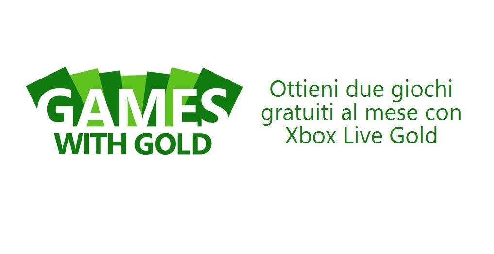 Immagine I giochi in regalo a Febbraio con Xbox Live Gold