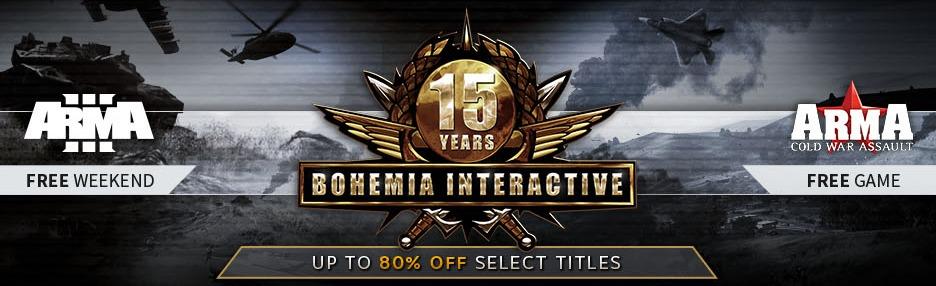 Immagine Bohemia Interactive compie 15 anni