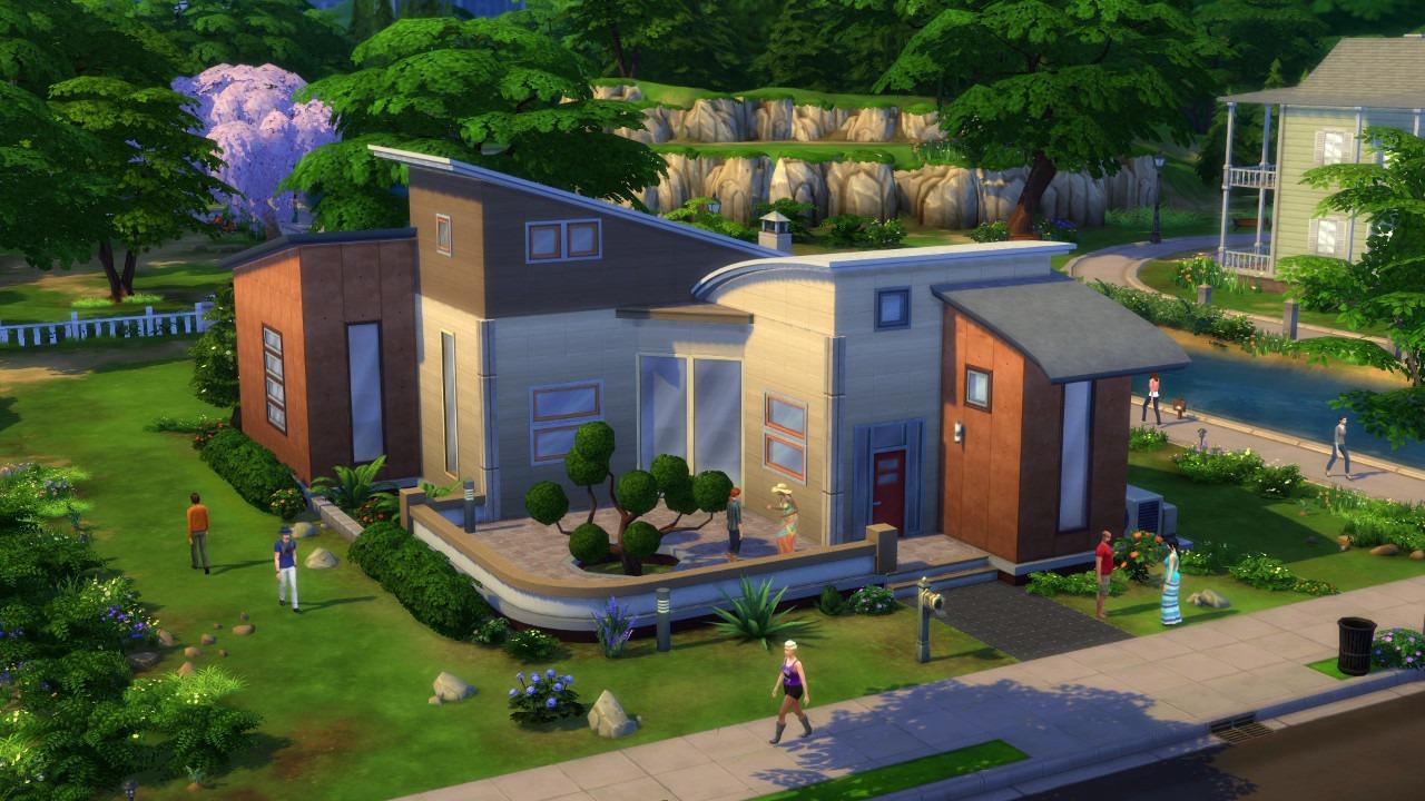 Immagine Ecco come costruiremo la casa dei nostri sogni in The Sims 4