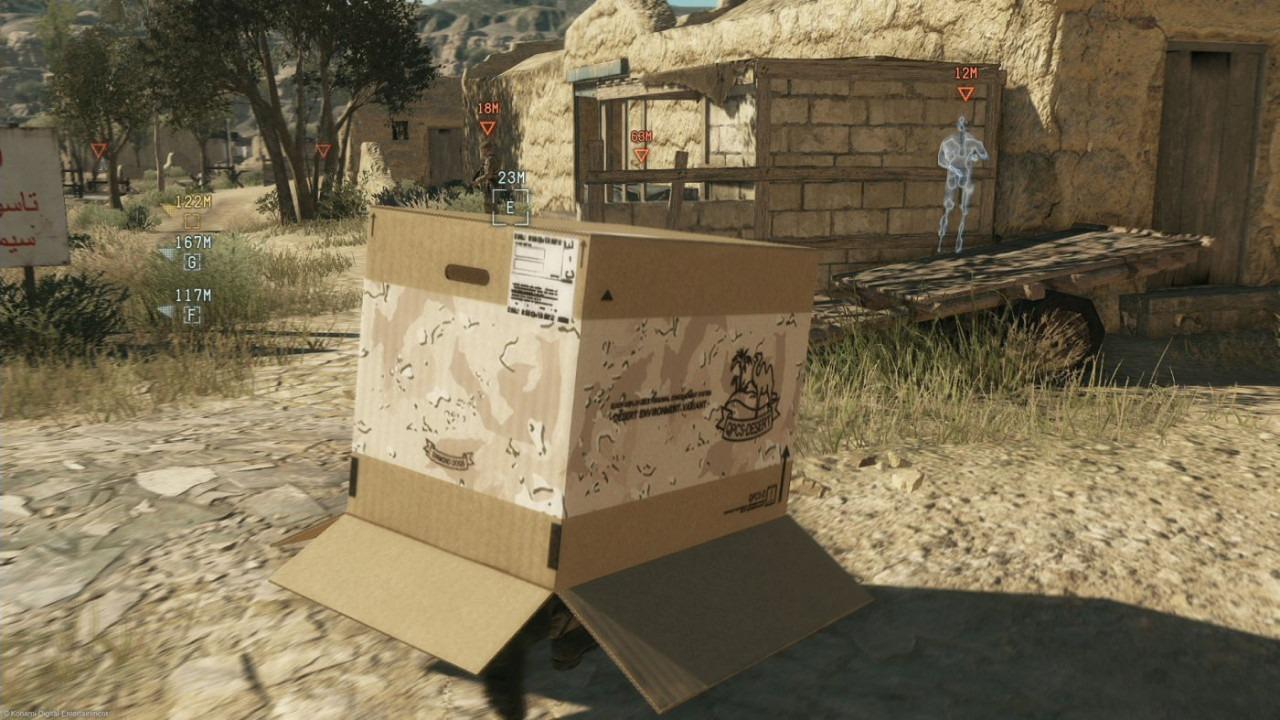 Immagine E3 2014: Metal Gear Solid V: The Phantom Pain verrà mostrato in gioco