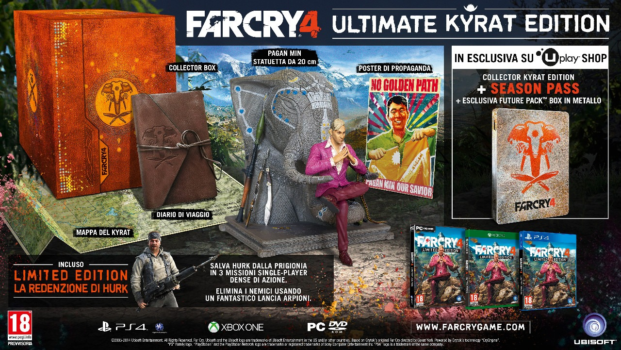 Immagine Ecco l'edizione definitiva di Far Cry 4