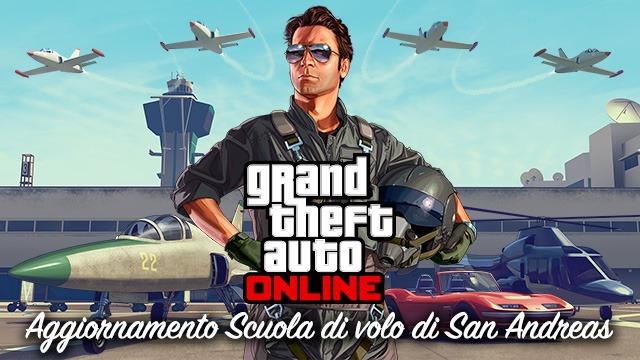 Immagine Aggiornamento Scuola di Volo per GTA Online