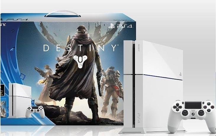 Immagine La bellezza glaciale della nuova PlayStation 4
