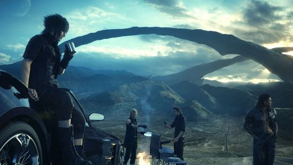 Immagine Trailer di Fintal Fantasy XV dal sol levante