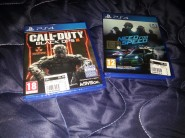 Call of Duty Black Ops 3 e Need for Speed PS4 Nuovi Incellophanati
