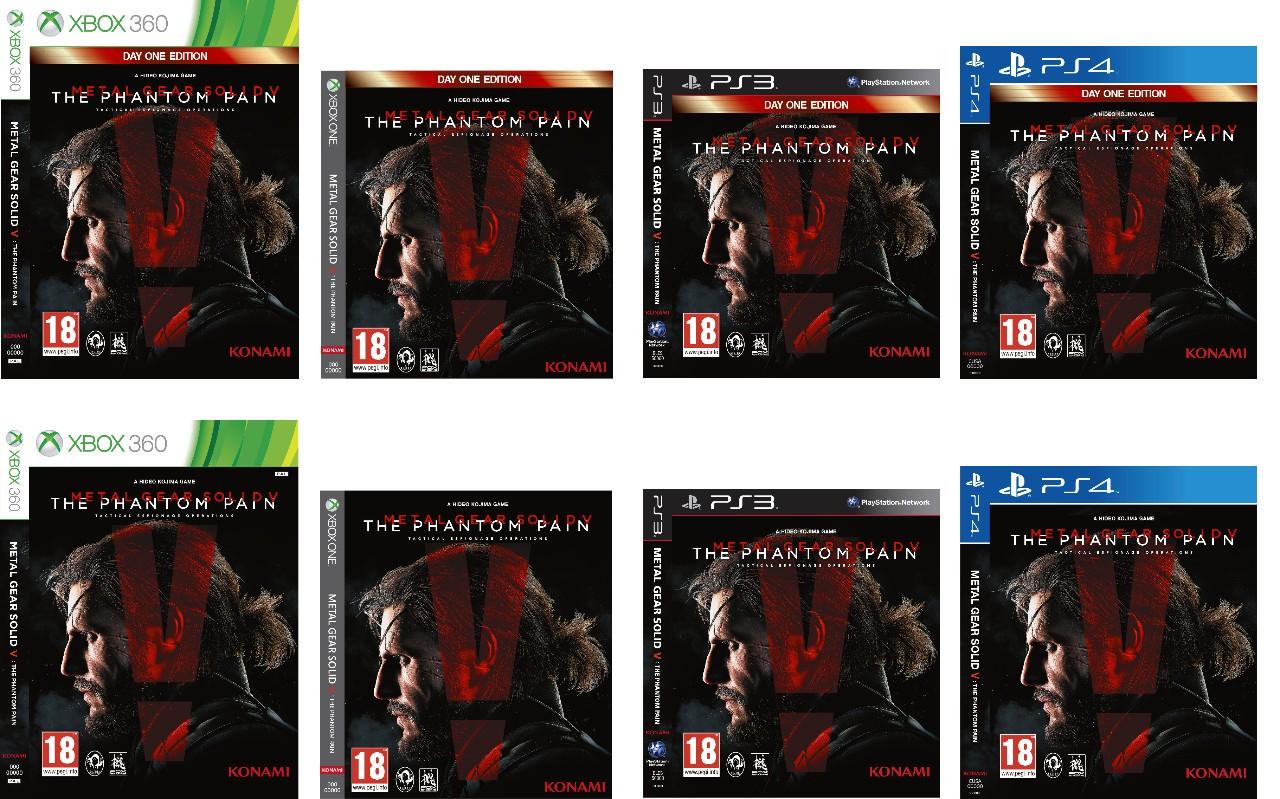 La cover di Metal Gear Solid V: The Phantom Pain per Xbox One è molto diversa da tutte le cover Xbox One uscite fin'ora. Che questo anticipi un cambia ..