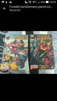 Fumetti transformers
