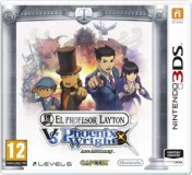 Cover Il professor Layton vs Phoenix Wright: Ace Attorney