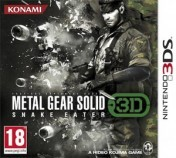 Cover Metal Gear Solid: Snake Eater 3D