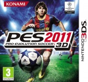 Cover Pro Evolution Soccer 2011 3D