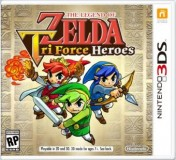Cover The Legend of Zelda: TriForce Heroes