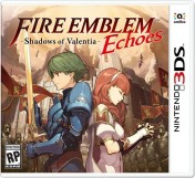 Cover Fire Emblem Echoes: Shadows of Valentia (3DS)