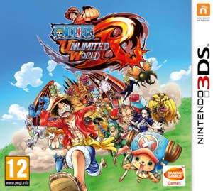 Cover ONE PIECE Unlimited World Red