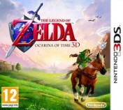 Cover The Legend of Zelda: Ocarina of Time 3D (3DS)