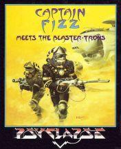 Cover Captain Fizz meets the Blaster-Trons