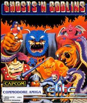Cover Ghosts 'n Goblins (Amiga)