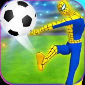 Cover futuristico ragno eroe calcio