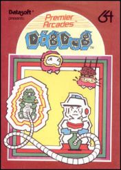 Cover Dig Dug (C64)