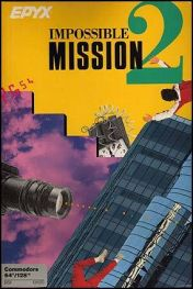 Cover Impossible Mission II (C64)