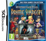 Cover Mystery Case Files: Prime Suspects