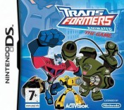 Cover Transformers Animated: The Game