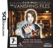 Cover Cate West: The Vanishing Files