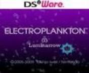Cover Electroplankton: Luminarrow