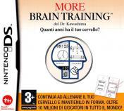 Cover More Brain Training del Dr Kawashima: Quanti anni ha il tuo cervello? (DS)