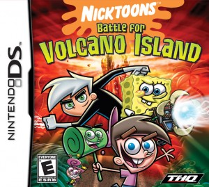Cover Spongebob and Friends: Battle for Volcano Island