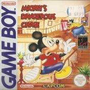 Cover Mickey's Dangerous Chase