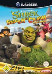 Cover Shrek Smash n' Crash Racing (GameCube)