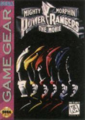 Cover Mighty Morphin Power Rangers: The Movie