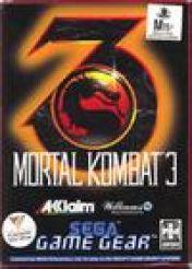 Cover Mortal Kombat 3 (GameGear)