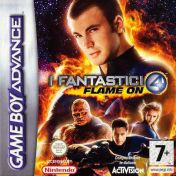 Cover Fantastic 4: Flame on