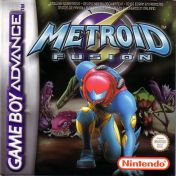 Cover Metroid Fusion (GBA)