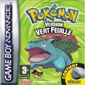 Cover Pokémon LeafGreen Version