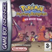 Cover Pokémon Mystery Dungeon: Red Rescue Team