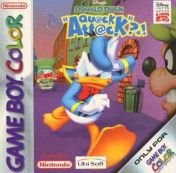 Cover Disney's Donald Duck: Goin' Quackers (GBC)