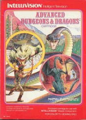 Cover Advanced Dungeons & Dragons (Intellivision)