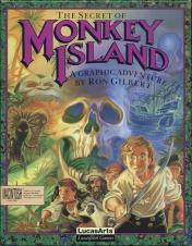 Cover The Secret of Monkey Island (Mac)
