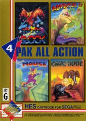 Cover 4 Pak All Action