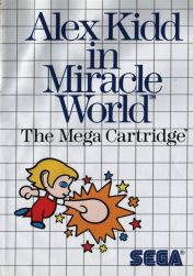 Cover Alex Kidd in Miracle World