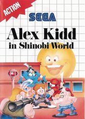 Cover Alex Kidd in Shinobi World