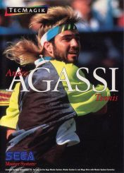 Cover Andre Agassi Tennis