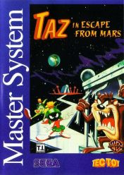 Cover Taz in Escape from Mars