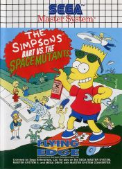 Cover The Simpsons: Bart vs. the Space Mutants (SMS)