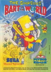 Cover The Simpsons: Bart vs. the World